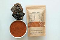 Chaga Mushroom Raw Powder Wild Harvested Siberian Dried Organic