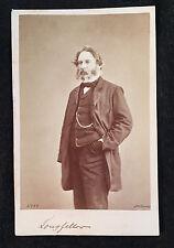 Carte-de-visite cvd photograph of HENRY WADSWORTH LONGFELLOW Notman Montreal