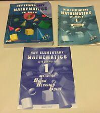 New Elementary Mathematics Syllabus D 1, workbook, Revision Guide Singapore FL
