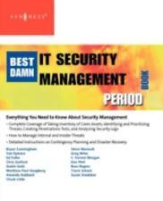The Best Damn IT Security Management Book Period by Karim Vellani, Robert...
