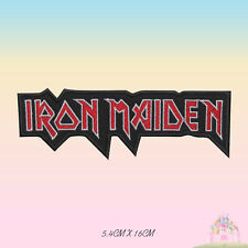 Iron Maiden Music Band Embroidered Iron On Sew On Patch Badge