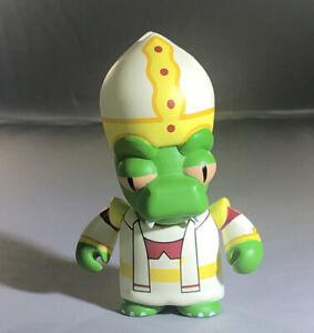 Kidrobot Futurama Good News Everyone Mini Space Pope Lizard Figure No Box