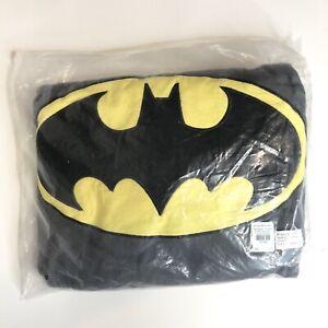 NEW Pottery Barn Kids Anywhere Beanbag Cover Batman Emblem Superhero Logo  31'