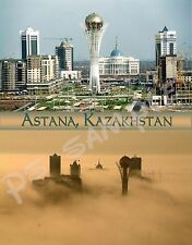 Kazakhstan - Astana - dust storm - Travel Souvenir Flexible Fridge Magnet