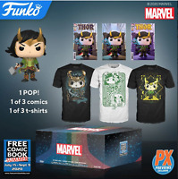 Marvel Funko Loki Mystery Box + Free Comic Book In Stock 2020 Tee XL SOLD OUT #3