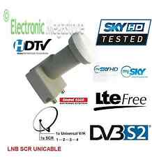 ILLUMINATORE CONVERTITORE LNB PER PARABOLA MY SKY HD SCR FULLHD 3D LNB013