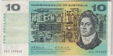 More details for p40b australia 1967 ten dollar banknote in good very fine condition