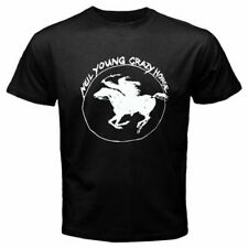 Neil Young Crazy Horse Classic Logo  T-shirt