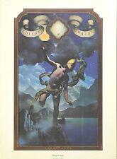 Maxfield Parrish Original Portal Publication Vintage Prometheus Lithograph 1974