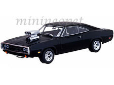 GREENLIGHT 86201 2001 THE FAST AND THE FURIOUS 1970 DODGE CHARGER R/T 1/43 BLACK