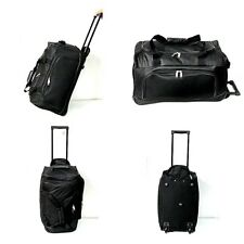 Cabin Approved Wheeled Travel Trolley Hand Luggage Suitcase Duffle Holdall Bag U