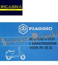 11256 - LIBRETTO USO E MANUTENZIONE PER VESPA VESPA PK 50 XL