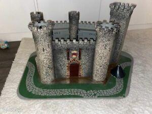 Château fort ancien style élastolin !!! starlux autres