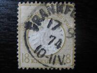 DEUTSCHES REICH Mi. #28I Brustschild Shield stamp w/ dot under E! CV $4,550.00
