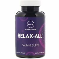 MRM Relax-All with Venetron 60 Vegan Capsules Egg-Free, Fish Free, Gluten-Free,