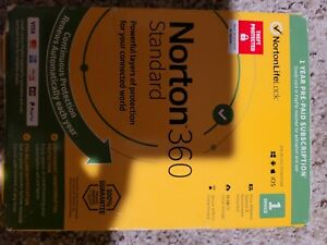 Norton 360 Standard 1 Year Pre-Paid Subscription