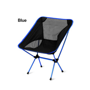 Foldable Lounge Outdoor Camping Fishing Hiking Chair with Portable Backpack