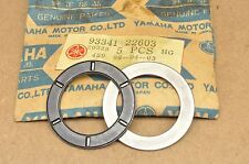 NOS Yamaha YZ125 MX175 AT1 AT2 CT1 DT125 RD200 YCS1 Clutch Thrust Bearing Set