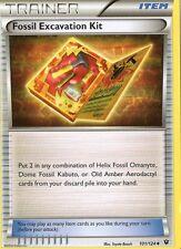 Fossil Excavation Kit 101/124  NM x4   Fates Collide Pokemon TCG Trainer