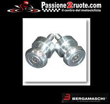coppia Nottolini perni cavalletto forchette moto cromati rear stand per kawasaki