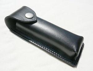 Magazintasche (Patronentasche) – Gürteltasche - echt Leder – schwarz -