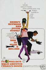 How to steal a million Audrey Hepburn movie poster print