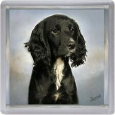 Working Cocker Spaniel Coaster No 8 by Starprint
