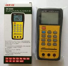 DER EE DE-5000 High Accuracy Handheld LCR Meter New from Japan Free ShIpping