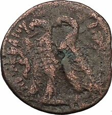 Ptolemy VI Philometor King of Egypt 170BC Ancient Greek Coin Two Eagles i36906