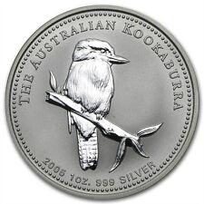 Perth Mint Australia $1 Dollar Kookaburra 2005 1 oz .999 Silver Coin