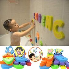 28Pcs Baby Bathrrom Learn Letters & Numbers Stick Educational Bath Water Toy
