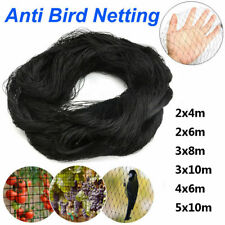2-10M Chinlon Black Netting Net 1.5cm Mesh Protection Anti Bird Small Animal
