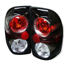 Dodge 97-04 Dakota Black Euro Style Rear Tail Light Brake Lamp Set