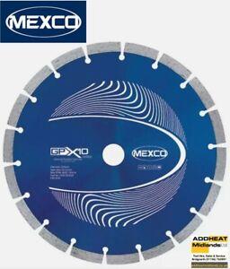 "MEXCO 230MM 9"" CONCRETE PROFESSIONAL GRADE DIAMOND BLADE CUTTING DISC GPX1023022"
