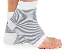 Compression Socks for Plantar Fasciitis Heal Foot Pain like Night Splint - White
