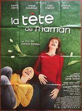 Affiche LA TETE DE MAMAN Carine Tardieu KARINE VIARD Kad Merad 120x160cm *D