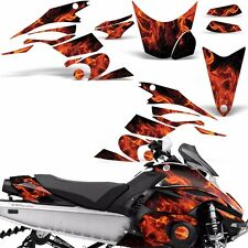 Decal Graphic Kit Yamaha FX Nytro Parts Sled Snowmobile Wrap Decals 08-14 ICE O