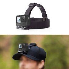 Nylon Kamera Kopfband Verstellbarer Fotografie Kopfgurt für Gopro Hero 9 Kamera