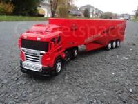 Massive European Large Truck Lorry 49cmL Radio Remote Control Car Steering Wheel