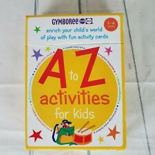 Gymboree A to Z Activities For Kids Explore Language Mix and Match Learning