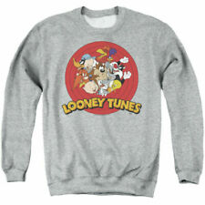 Looney Tunes Dj Looney Tunes Back Print Adult Zip Up Hoodie