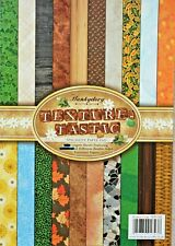 16 x A4 Texture Tastic Double Sided Papers from Hunkydory 150gsm NEW