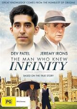 The Man Who Knew Infinity : NEW DVD