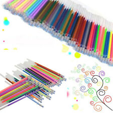 12/24/36/48 COLORS GEL PEN REFILLS GLITTER COLORING DRAWING PAINTING CRAFT SMART