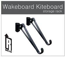 WAKEBOARD / KITEBOARD / SNOWBOARD / SUFBOARD GARAGE STORAGE RACK SYSTEM