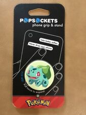 Pokemon Popsockets Bulbasaur Pop Socket Cell Phone Grip & Stand NIP