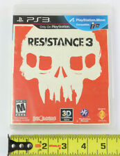 Resistance 3 PS3 Playstation 3 TESTED MINT