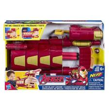 MARVEL AVENGERS IRON MAN SLIDE BLAST ARMOUR NERF PLAY SET TOY