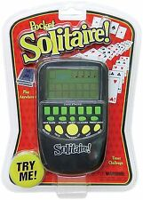 Electronic Pocket Solitaire (Large LCD Screen)