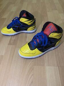 """NIKE Dunk BIG HIGH QK """"WOLVERINE"""" X MEN OG QS Size 9.5 Shoes sneaker 370428-701"""